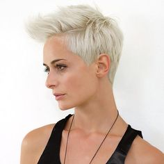 Blonde+Fauxhawk+Hairstyle+For+Women
