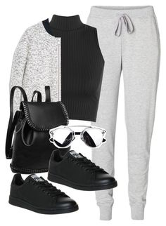 """Untitled #5028"" by angela379 ❤ liked on Polyvore featuring Vero Moda, WearAll, MANGO and adidas"
