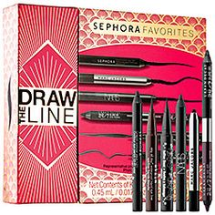 I cannot wait for this to arrive.  Loved the set from 2013-what a deal!  Sephora Favorites - Draw The Line  #sephora