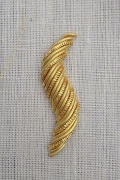 Goldwork Swirl