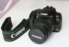 Camara Canon Digital Rebel XTi / EOS 400D 10.1 Megapixeles+ LENTE 18-55mm IS+Filtro UV+Maleta - http://canoncamera.us