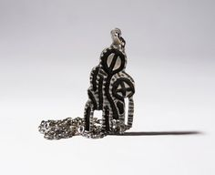Robert Larin Necklace  Brutalist Modernist  by LuckyPatina on Etsy