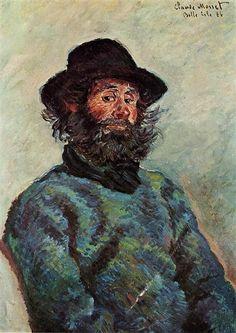 Portrait of Poly, fisherman at Kervillaouen 1886 Claude Monet