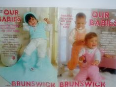 Vintage Knit Crochet Pattern Book Our Babies by by RaeOfLight, $3.00