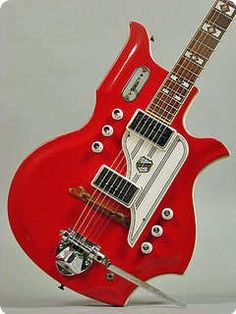 National Glenwood 95 - 1962 Red Guitar