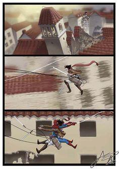 Oh god! I'm gunna die! Attack On Titan 進撃の巨人 shingeki no kyojin Anime Meme, Manga Anime, Attack On Titan Funny, Attack On Titan Anime, Attack On Titan Crossover, Memes Dbz, Hiro Big Hero 6, Accel World, Mini Comic