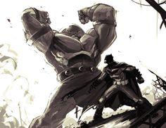 Juggernaut vs Batman