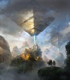 Ficção científica e fantasia nas ilustrações de Park Jong Won