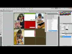 Using actions for create digital Project Life