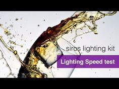 Karl Taylor's Broncolor Siros Lighting Kit Review and Competition. - Page 5 The Speed Test.