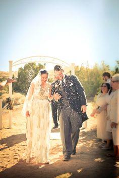 Trend Alert: Photograph a Fantastic Confetti Toss... unique wedding photo ideas with confetti