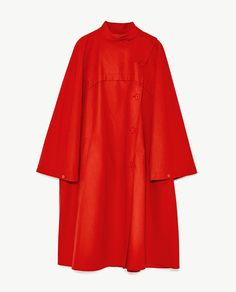 Image 11 of OVERSIZED CAPE TRENCH COAT from Zara