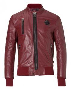 "biker jacket ""right"" - Jackets - Clothing - Men   Philipp Plein"