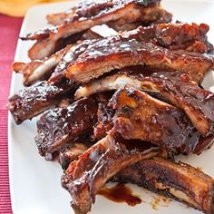 Saucy Country-Style Oven Ribs