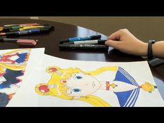 Check out this step-by-step video of how to draw Sailor Moon, one of the most popular magical girls, using our new book Manga Crash Course: http://bit.ly/1JkKpmW