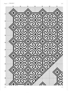 Blackwork Patterns, Cross Stitch Patterns, Hobbies And Crafts, Diy And Crafts, Bargello, Prayer Rug, Pixel Art, Sewing Projects, Embroidery