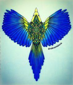 One for sorrow, two for joy . . . #dagdrömmar #hannakarlzon #stabilocarbothello #bird #magpie #beautiful #arttherapy #adultcoloringbook #coloring #creativelycoloring #shadyas #coloringforgrownups #artecomoterapia #coloring_secrets #beautifulcoloring #boracoloritop #divasdasartes #majesticcoloring #antistress #coloriage #bayan_boyan #colorindolivrostop #kolorowanka #desenhoscolorir #art