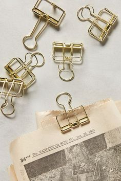 Folio Binder Clips