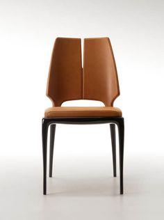 Paul Mathieu - Contour chair detail www.luxurylivinggroup.com #PaulMathieu #LuxuryLivingGroup Dining Chairs, Dinning Chairs, Dining Chair