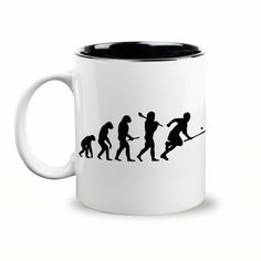 Evolution Gift Mug & Box by HairyBaby.com