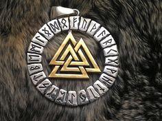 Norse Mythology Symbols | The Valknut , a symbol ...