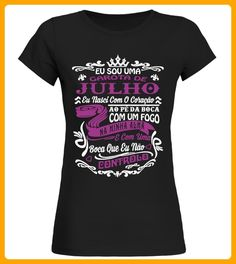 Eu sou uma garota de JULHO - Läufer shirts (*Partner-Link)