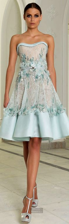 BLUE & TURQUOISE PRINTED DRESSES