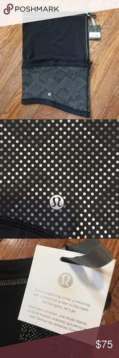 Lululemon Lights Out SE Run Fast Neck Warmer NWT. See tag for detail. NO TRADES. lululemon athletica Accessories Scarves & Wraps
