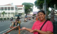 The famous trishaw in Penang, Malaysia