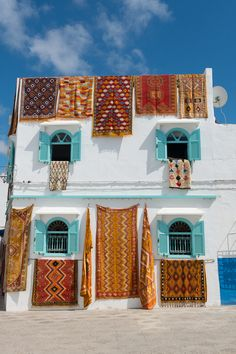 Asilah Morocco is a funky, artsy seaside town in Morocco. Here's a photo tour. Visit Morocco, Morocco Travel, Tanger Morocco, Marrakech Morocco, Voyager C'est Vivre, Places To Travel, Travel Destinations, Seaside Towns, Instagram Worthy