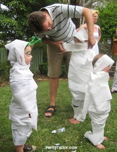 Great party game for butterfly party, zombie party, bugs party, halloween party.