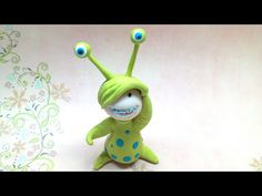 Litlle monster costume/ Disfarce de monstrinho - Polymer clay (Fimo)