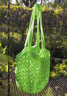 Market Bag - Crochet - This ones a keeper, I've made so many of these and I love them all!