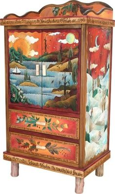 painted cabinet - Funky Furniture Factory
