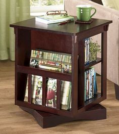 1000 images about media table on pinterest end tables for Revolving end table