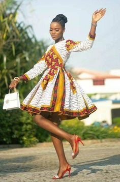 African Dresses For Kids, African Inspired Fashion, Latest African Fashion Dresses, African Print Fashion, African Dress Styles, Africa Fashion, African Clothes, African Style Clothing, Ankara Dress Styles