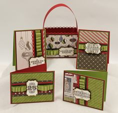 Letters From Santa Stampin' Up! Class Tutorial by Andrea Walford