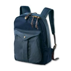 Filson Twill Navy Backpack FIL-70083-NS
