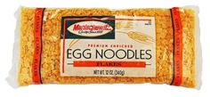 MANISCHEWITZ Flakes Egg Noodles, 12-Ounce Bags (Pack of 12)