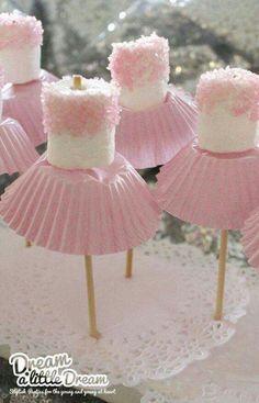 Cute idea for little girl's parties!