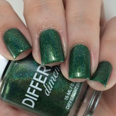 Brand: Different Dimension // Collection: A Box Indied August 2015 (All Hail Holos) // Color: Imperium Sine Fine // Instagram Swatch: @ermahgerdperlish