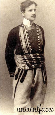 Serbian born Nikola Tesla has nearly 300 patents under his belt. In this photo, Tesla is wearing the Serbia national costume taken around 1880. By the sounds of his biography, the hugely talented Tesla truly was the poster child for mad scientists everywhere when he . . . http://www.ancientfaces.com/research/photo/1251785/nikola-tesla-inventor-family-photo