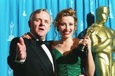 Howards End - Anthony Hopkins and Emma Thompson - Oscars Best Actress Award - 1993