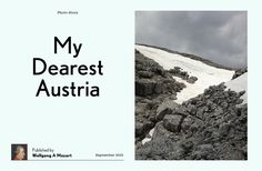 'Austria (Photo Story Template)' by Readymag Templates | Readymag