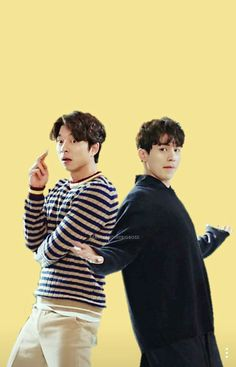 Goblin bromance between Lee Dong Wook and Gong Yoo Lee Dong Wook Goblin, Goblin Gong Yoo, All Korean Drama, Goblin Korean Drama, Asian Actors, Korean Actors, Boys Over Flowers, Goblin Wallpaper Kdrama, Goblin The Lonely And Great God
