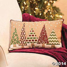 Plush Holiday Christmas Tree Pillow background to Photo Booth Christmas Applique, Christmas Owls, Burlap Christmas, Christmas Pillow, Christmas Holidays, Christmas Decorations, Country Christmas, Christmas Cushions To Make, Christmas Wreaths