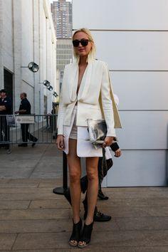 origami-like layers #white #fashion