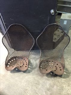 My rat rod tractor momo race seats