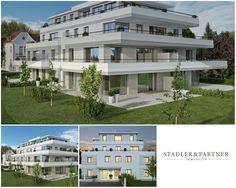 Luxus Erstbezugs-3-Zimmer-Garten-Wohnung in der Riedenburg! Villa, Salzburg, Multi Story Building, Mansions, House Styles, Home Decor, Terrace, Old Town, Real Estate
