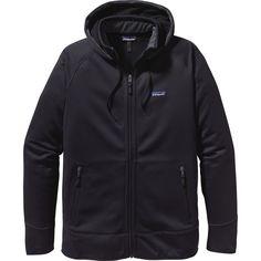 Patagonia - Tech Hooded Fleece Jacket - Men's - Black/Black